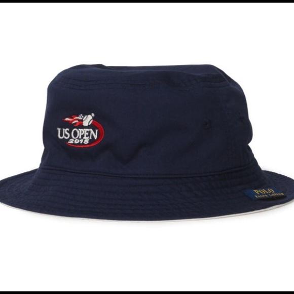 32dd6ab8ae1 Polo Ralph Lauren reversible bucket hat U.S. Open